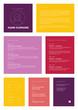 Minimalist resume cv template for women