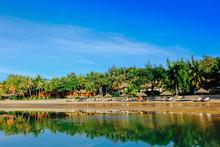 Landscape Of A Beautiful Resort In My Trip At Mui Ne, Phan Thiet, Viet Nam