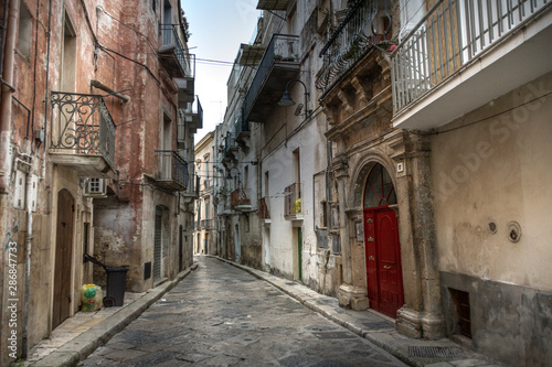 Canvas Prints Narrow alley Gravina in Puglia