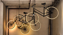 Bikes With Illuminated Wheels ...