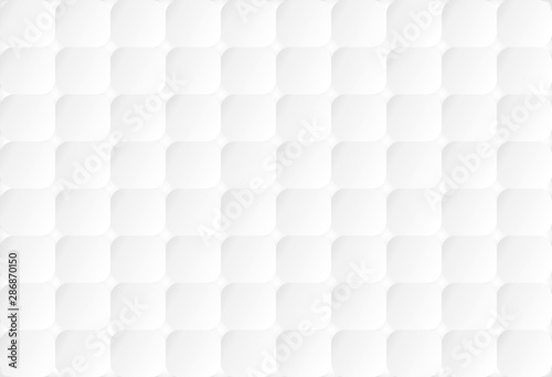 Abstract White Colour Backgroundtexture With Square