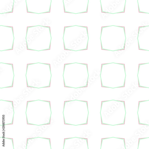Fototapety, obrazy: Seamless geometric ornamental vector pattern. Abstract background