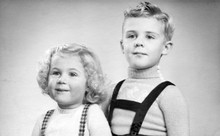 Early 1950s Duo Portrait Of A ...