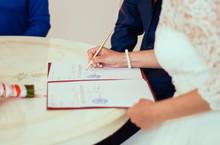 Wedding Ceremony.The Bride, Th...