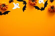 Happy Halloween Holiday Concep...