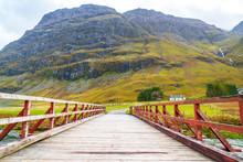 Bridge In The Scottish Highlands
