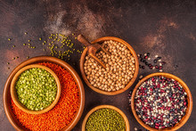 Assortment  Of Legumes - Lenti...