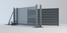 Sliding Gate And Fence Panel, ...