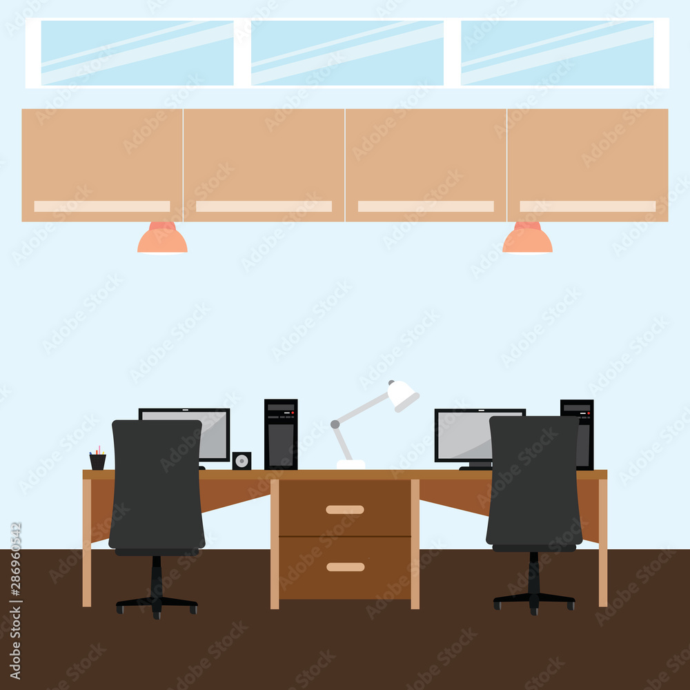 Fototapeta Abstract office background