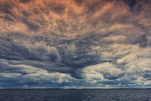 Enormous Storm Clouds Rowling ...