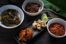 Thai Sausage ,Tradition Northern Thai Food. Thai Cuisine Nam Prik Or Chilli Sauce. Thai Food Concept - Image