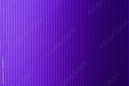 Decorative background lilac, violet color, striped texture horizontal gradient. Wallpaper. Art. Design. - 286982537