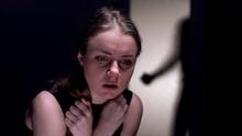 Frightened Female Victim Cryin...