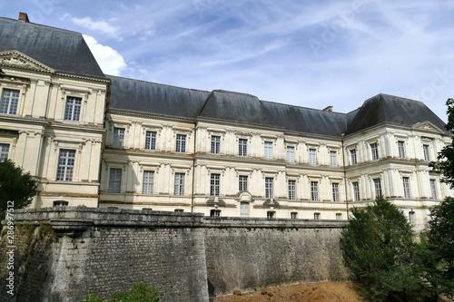 Photographie Vue de la façade arrière de l'aile Gaston d'Orléans du château royal de Blois, L