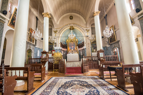 Photo Interior of Armenian Apostolic Orthodox Church Surp Kevork in Plovdiv (Bulgari