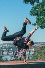 The Man Dancing Break With Hap...
