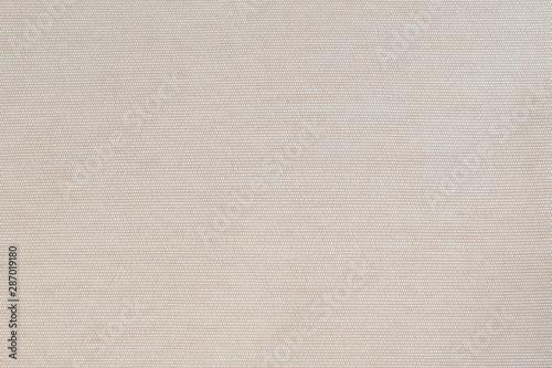 Muslin fabric cloth woven texture background light white cream color Fototapet