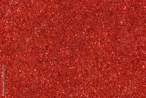 red glitter texture abstract background - 287027759