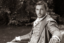Portrait Of Handsome Gentleman...