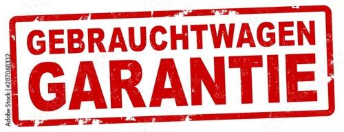 nlsb1102 NewLongStampBanner nlsb - german banner (deutsch) text - Gebrauchtwagen Canvas Print