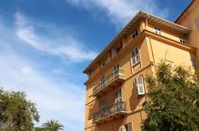 Mediterranean Style Building - Menton - French Riviera