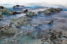 Tide Pools And Rocks, Long Exp...