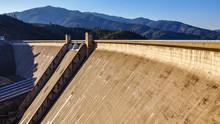 Shasta Dam, A Concrete Arch-gr...