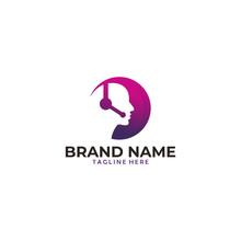 User Or Programmer Logo Design Icon Vector
