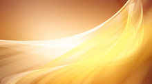 Yellow Motion Background / Brown Gradient Abstract Background