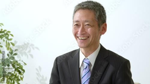 ビジネスマン・中高年男性 Fototapet