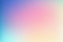 Colorful Gradient Pastel Color Background.