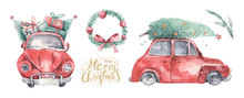 Watercolor Christmas Holiday C...