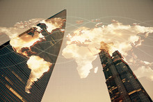 Double Exposure Of Business Th...