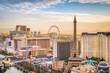 Leinwandbild Motiv Las Vegas, Nevada, USA Skyline
