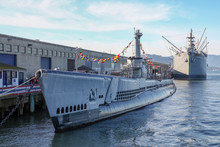 Submarine USS Pampanito Used In World War 2