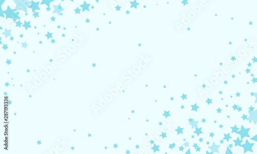 blue stars background Fototapet
