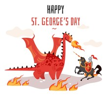 Georges Day. Cartoon Tradition...