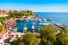 Kaleici Old Town In Antalya