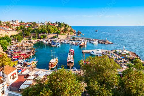 Fototapeta premium Stare miasto Kaleici w Antalyi