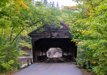Albany Covered Bridge, White Mountain National Forest, Conway And Albany, New Hampshire