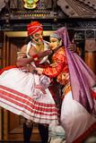 Kathakali dance show in Cochin, India