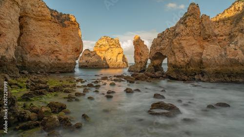Acrylic Prints Stones in Sand Coastal dream - Ponta da piedade, Algarve Portugal