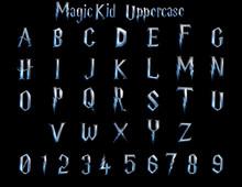Magic Kid Fantasy Alphabet - 3D Illustration