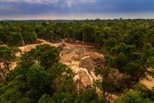 Illegal Mining Causes Deforest...