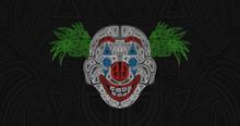 Clown Mask Illustration Abstra...