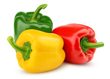 Sweet Pepper, Red, Green, Yell...