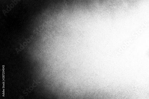 Obraz Vintage black and white noise texture. Abstract splattered background for vignette. - fototapety do salonu