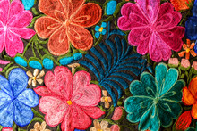 Background Of Hand-embroidered...