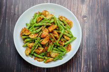 Stir Fried String Green Bean W...