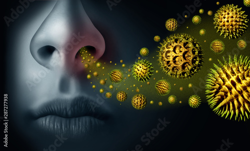 Seasonal Pollen Allergy Wallpaper Mural